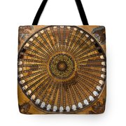 Hagia Sofia Ceiling Tote Bag