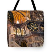 Hagia Sofia Interior 05 Tote Bag