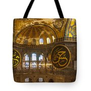 Hagia Sofia Interior 15 Tote Bag