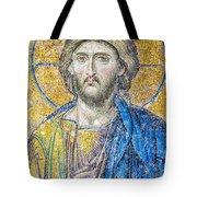 Hagia Sofia Jesus Mosaic Tote Bag