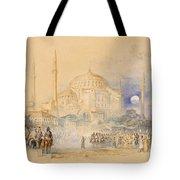 Hagia Sofia Tote Bag by Joseph Mallord William Turner