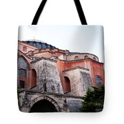 Hagia Sophia Buttresses Tote Bag