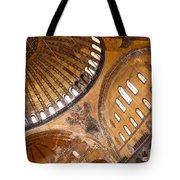 Hagia Sophia Dome 01 Tote Bag