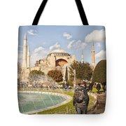 Hagia Sophia Editorial Tote Bag by Antony McAulay