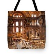 Hagia Sophia Interior 04 Tote Bag