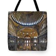 Hagia Sophia Museum In Istanbul Turkey Tote Bag
