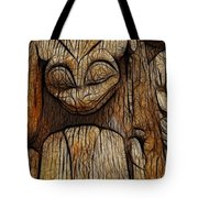 Haida Totem Tote Bag by Bob Christopher