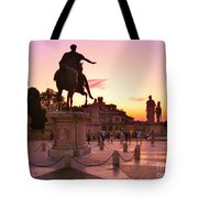 Hail To All The Little Tourists Tote Bag