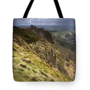 Hailstorm In The Distance Tote Bag