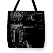 Hair Dryer 2 Patent Art 1911 Tote Bag