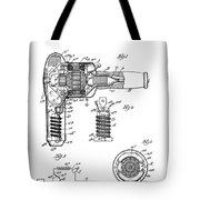 Hair Dryer 3 Patent Art 1931 Tote Bag