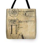 Hair Dryer Patent Art 1911 Tote Bag
