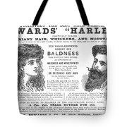 Hair Restorative, 1891 Tote Bag