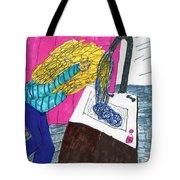 Hair Wash Tote Bag by Elinor Rakowski