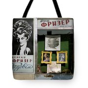 Hairdresser. Belgrade. Serbia Tote Bag