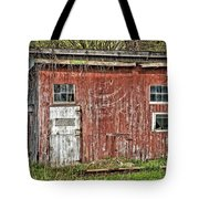 Hairy Red Barn Tote Bag