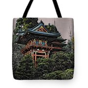 Hakoni Tea House Tote Bag