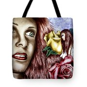 Haleys Apparition Colored Tote Bag