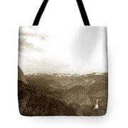 Half Dome From Glacier Point Yosemite Valley  California Circa 1910 Tote Bag