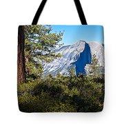 Half  Dome From Sentinel Dome Trail In Yosemite Np-ca Tote Bag