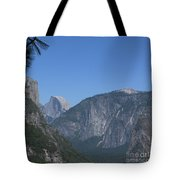 Half Dome In Distance Tote Bag