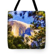 Half Dome Opus I Tote Bag