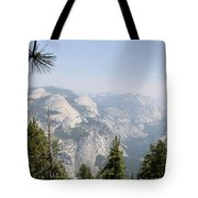 Half Dome Panorama View Tote Bag
