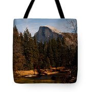 Half Dome Spring Tote Bag by Bill Gallagher