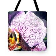 Half Orchid Tote Bag