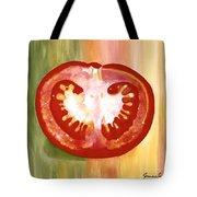 Half-tomato Tote Bag