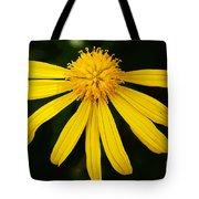 Half Yellow Tote Bag