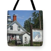 Halfway To The Pole Tote Bag