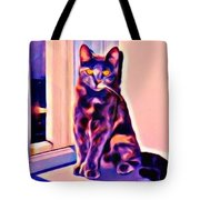 Halifax Cat Tote Bag