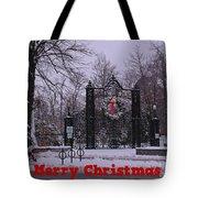 Halifax Christmas Tote Bag