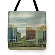 Halifax From The Harbour Tote Bag by Jeff Kolker