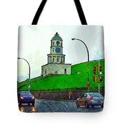 Halifax Historic Town Clock Tote Bag