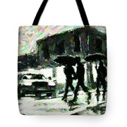 Halifax In The Rain One Tote Bag