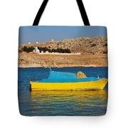 Halki Fishing Boat Tote Bag