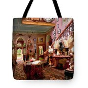 Hall And Staircase Of A Country House Tote Bag