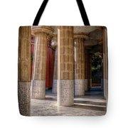 Hall Of 100 Columns Tote Bag