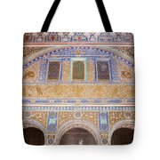 Hall Of Ambassadors In The Royal Alcazar Of Seville Tote Bag