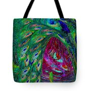 Hall Of Fairies Feather Dance Tote Bag