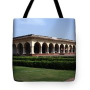 Hall Of Public Audience - Red Fort - Agra Tote Bag
