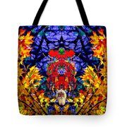 Hall Of The Color King Tote Bag