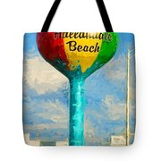 Hallandale Beach Water Tower Tote Bag
