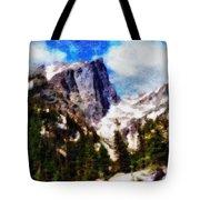 Hallett Peak In Spring Tote Bag