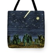 Halleys Comet 1682 Tote Bag
