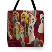 Halloween A Big Booo To You Tote Bag