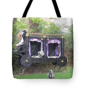 Halloween Carriage Tote Bag
