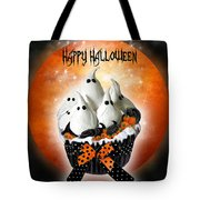 Halloween Ghost Cupcake 1 Tote Bag